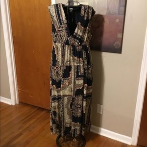 Woman's Sleeveless maxi dress